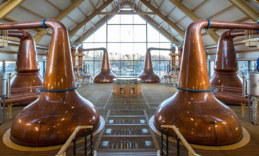 distillerie di whisky in Scozia