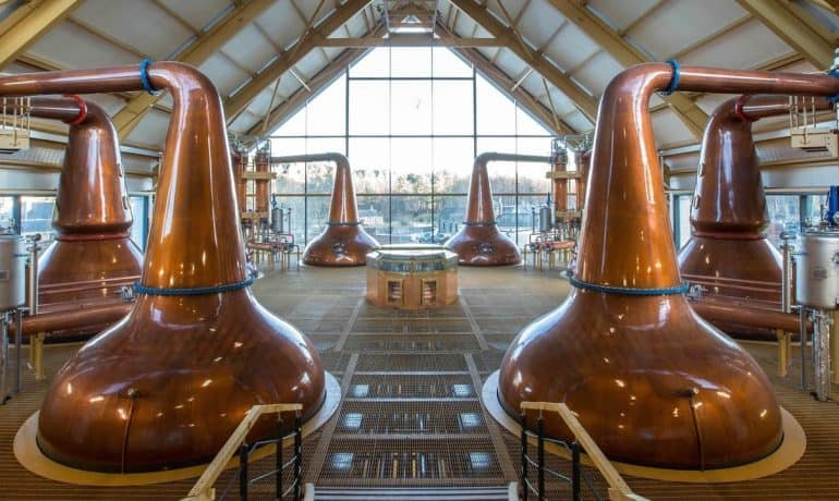 Distillerie di whisky in Scozia