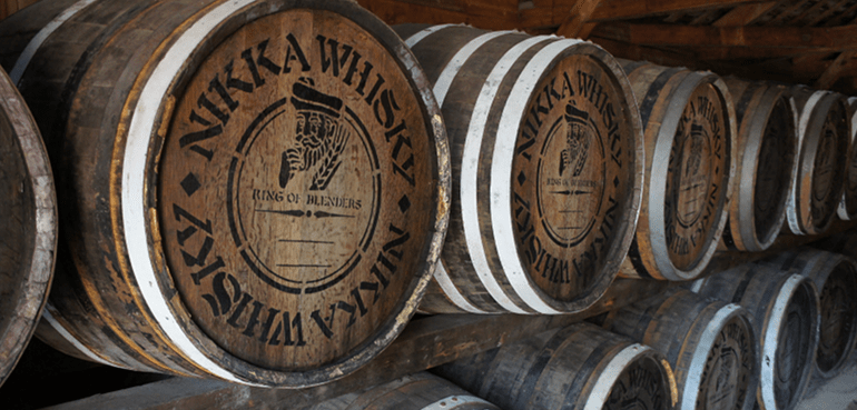 distillerie di whisky giapponese
