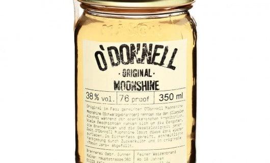 odonnell moonshine original whisky tedesco