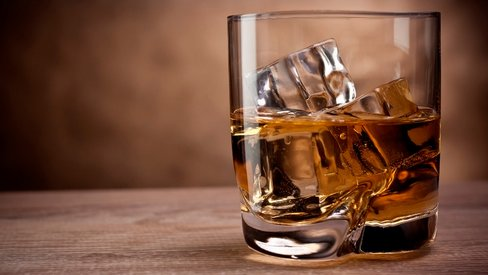 whisky drinking