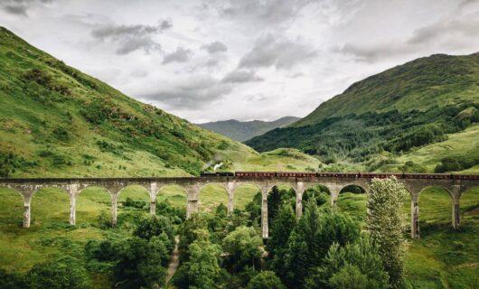 la regione delle Highlands, in Scozia