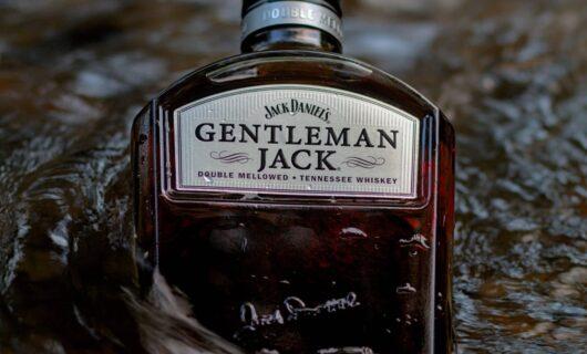 Bottiglia di Jack Danels
