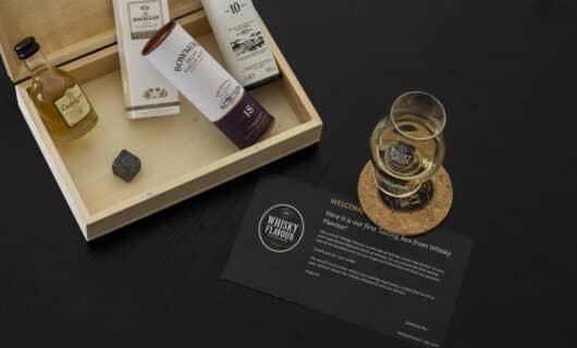 Il kit in abbonamento di Whisky Flavour